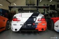BMW M3 E46 Race Car Trunk Lid Rear Wing
