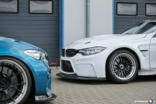 BMW M4 GTR Rennwagen