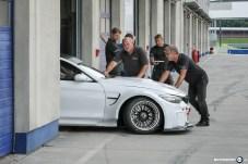 BMW M4 GTR Boxenstop