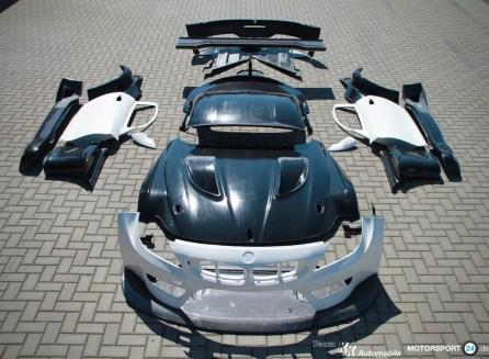 BMW Z4 GT3 Bodykit Carbon Fiber