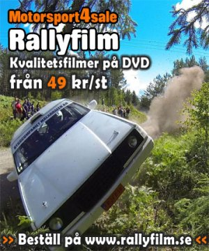 Rallyfilmer på DVD