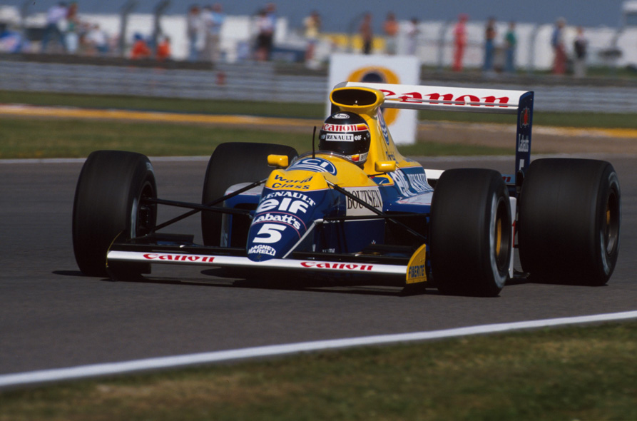 Image result for williams renault 1990