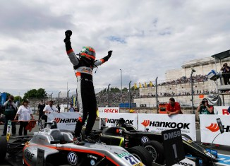 Jehan Daruvala FIA Formula 3 Euro winner (Image credit: Sahara Force India)
