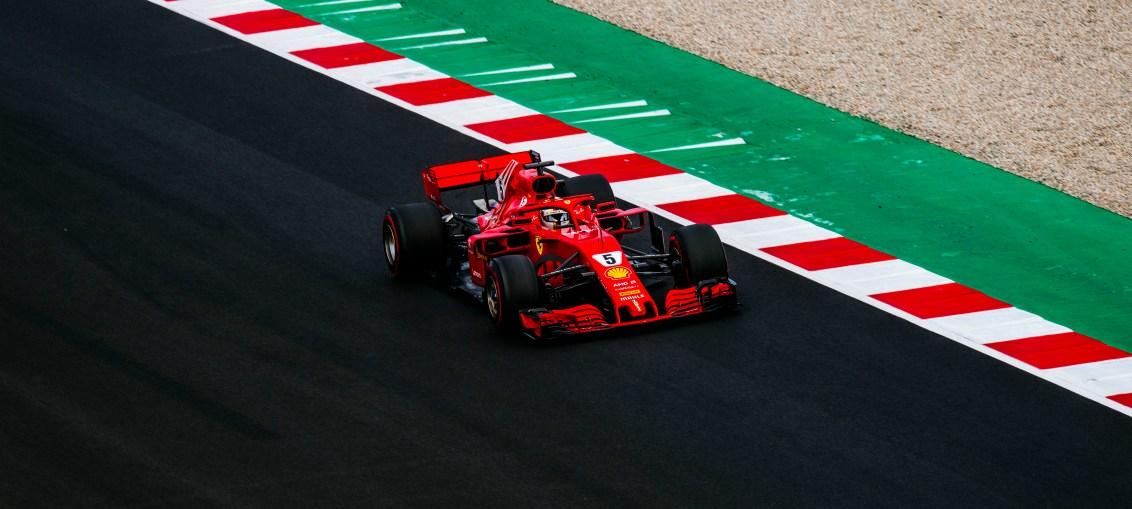 Scuderia Ferrari SF71H at Barcelona pre-season F1 Test