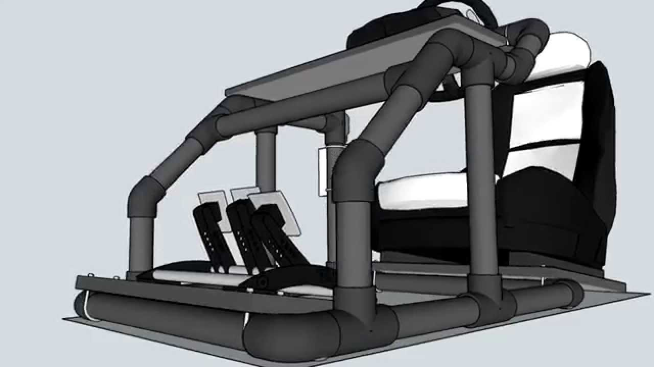 Cockpit para simulador