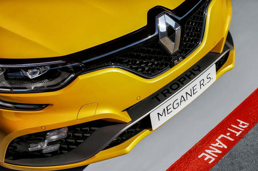 Renault apresenta o novo Megane RS Trophy.