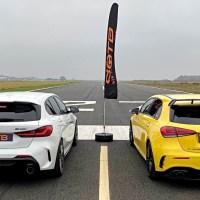 Mercedes-AMG A35 vs BMW M135i xDrive... Qual o mais rápido?