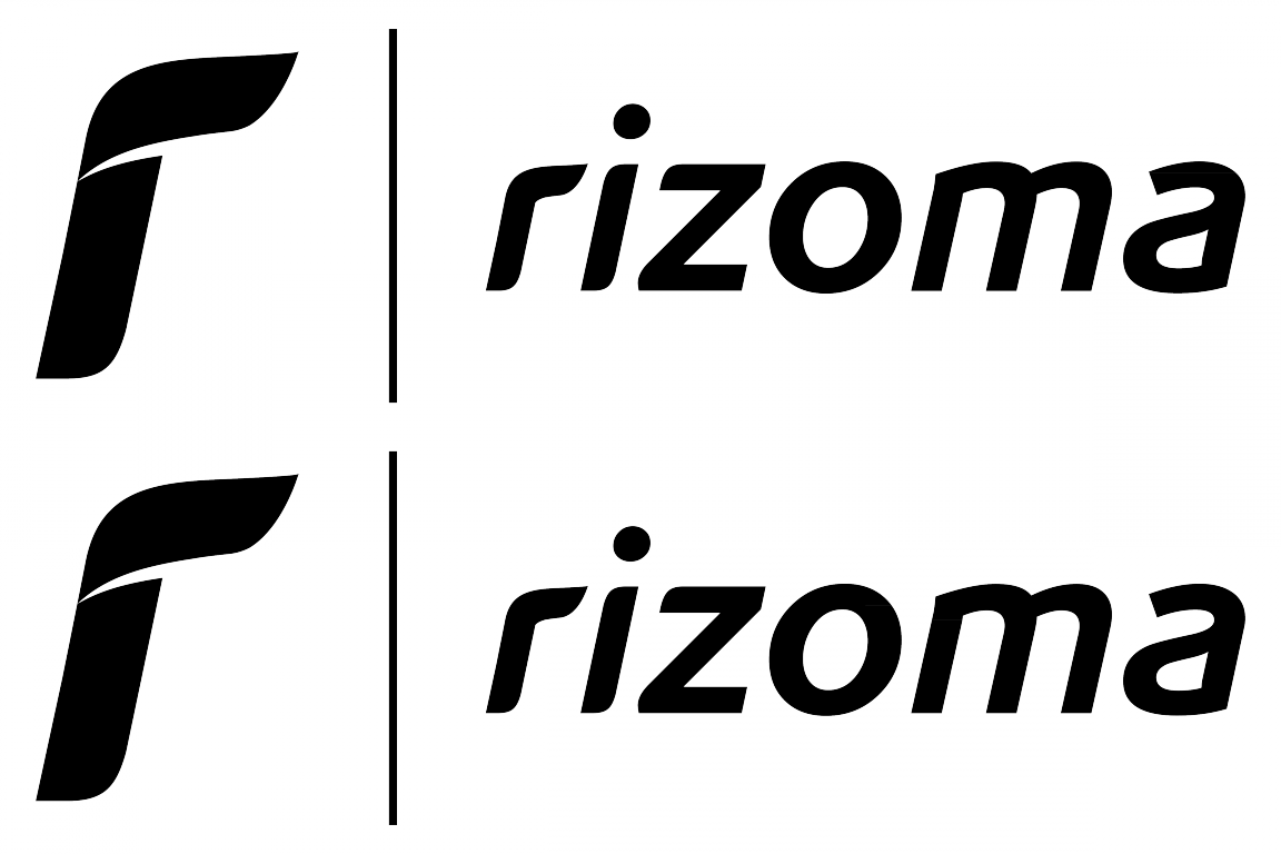 Rizoma Logo Stickerschoose The Color Yourselfand Select The Size