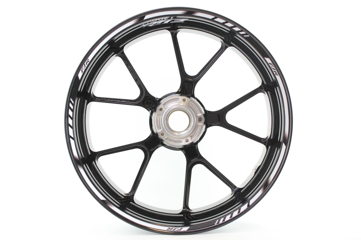 Rimstriping Yamaha Fjr White Wheel Stripes Motorcycle