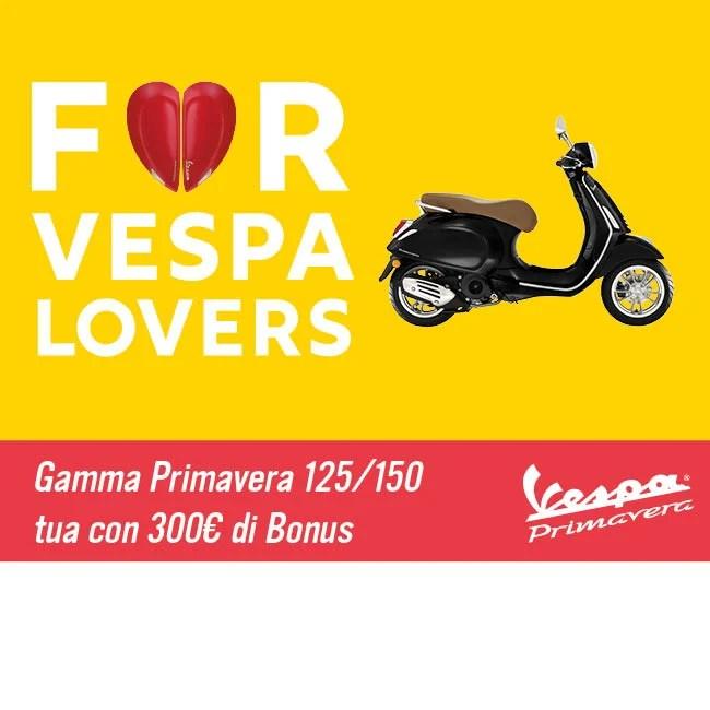 Vespa Tua Con Bonus Fino A 890 Euro