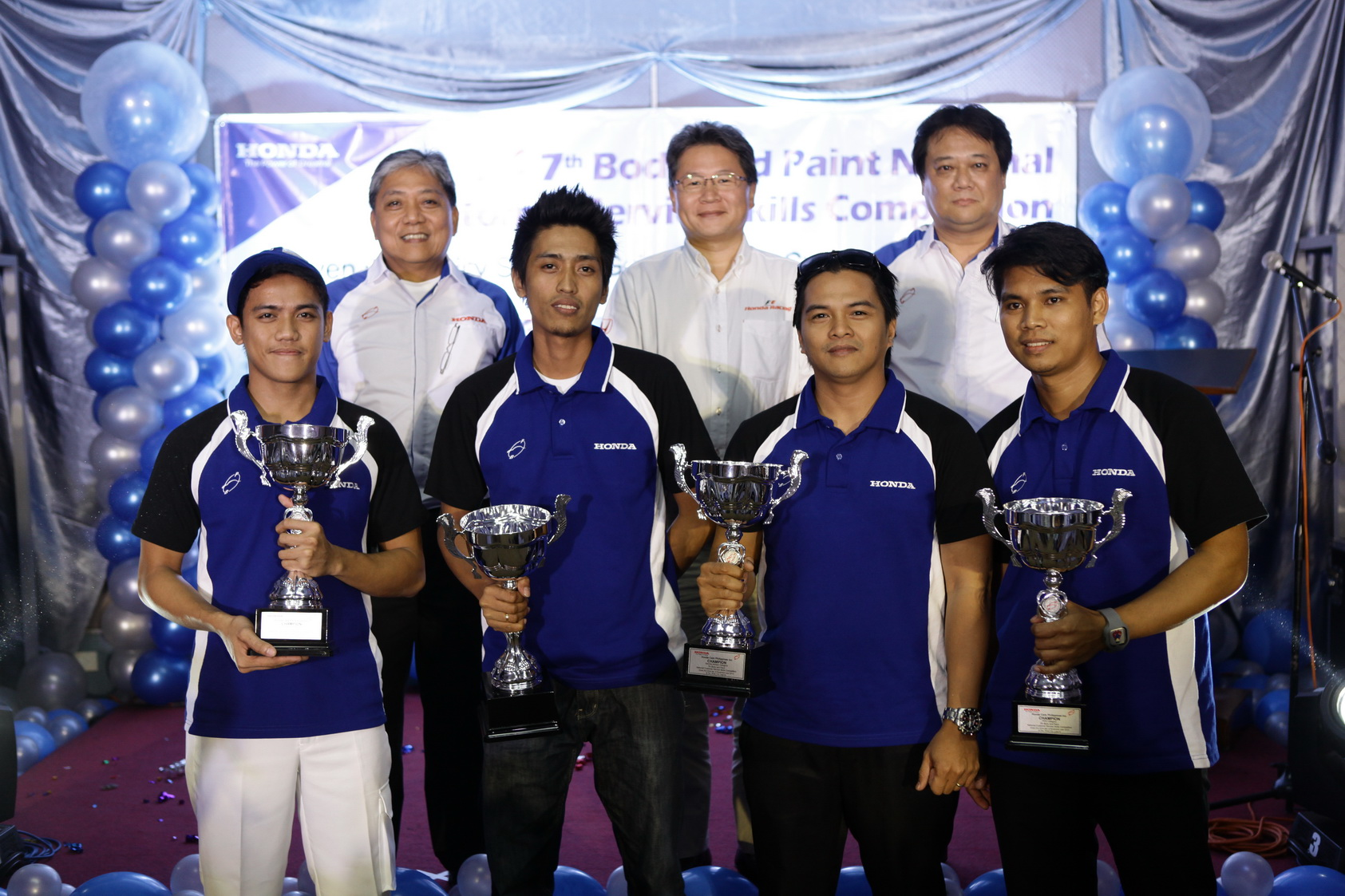 Honda PH Holds 7th National Customer Service Skills Competition