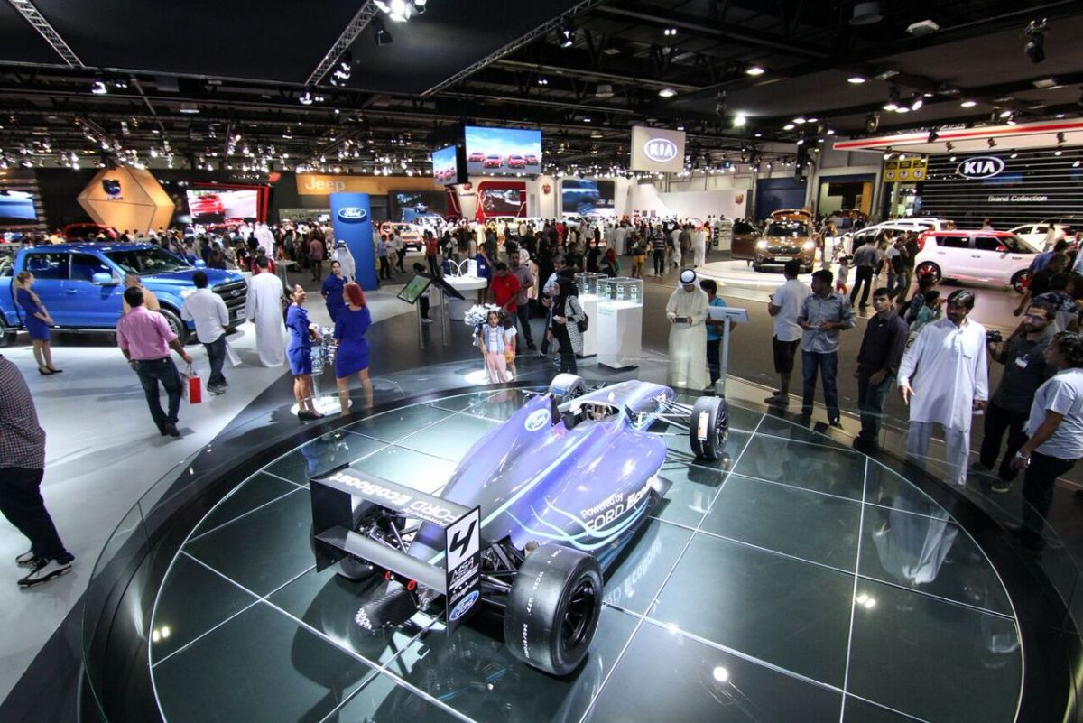 14th Dubai International Motor Show unveiled