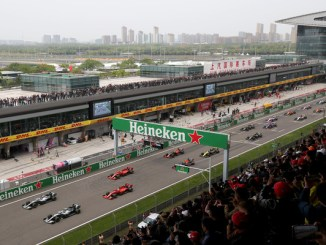 Salida del Gp de China 2019
