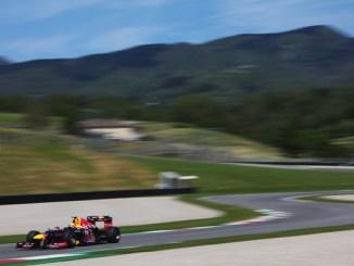 Mark Webber test Mugello 2012