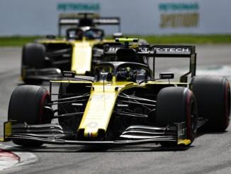Los dos Renault en Italia