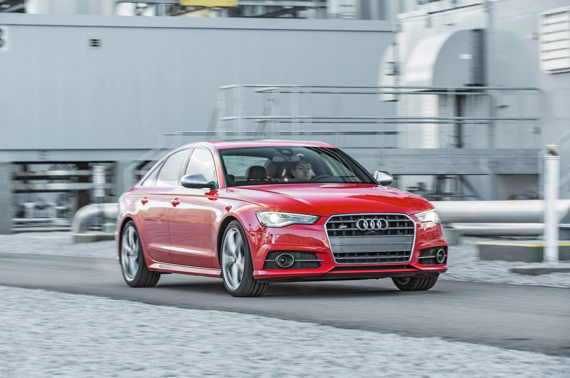 2016 Audi S6 40T Quattro front three quarter in motion