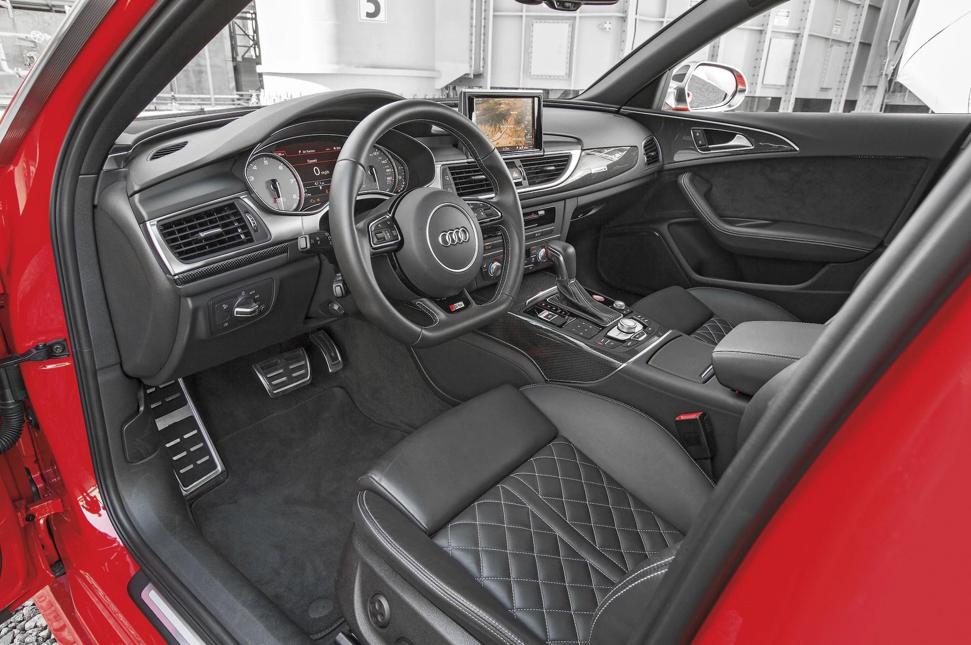 2016 Audi S6 40T Quattro interior