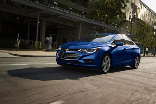 2016 Chevrolet Cruze in the city