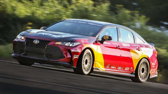 The Platypus Toyota Avalon Trd Pro Concept Is A Racetrack Beast