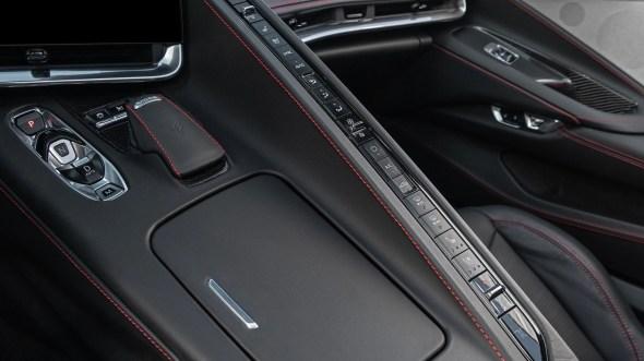 2020 Chevrolet Corvette C8 interior detail 2