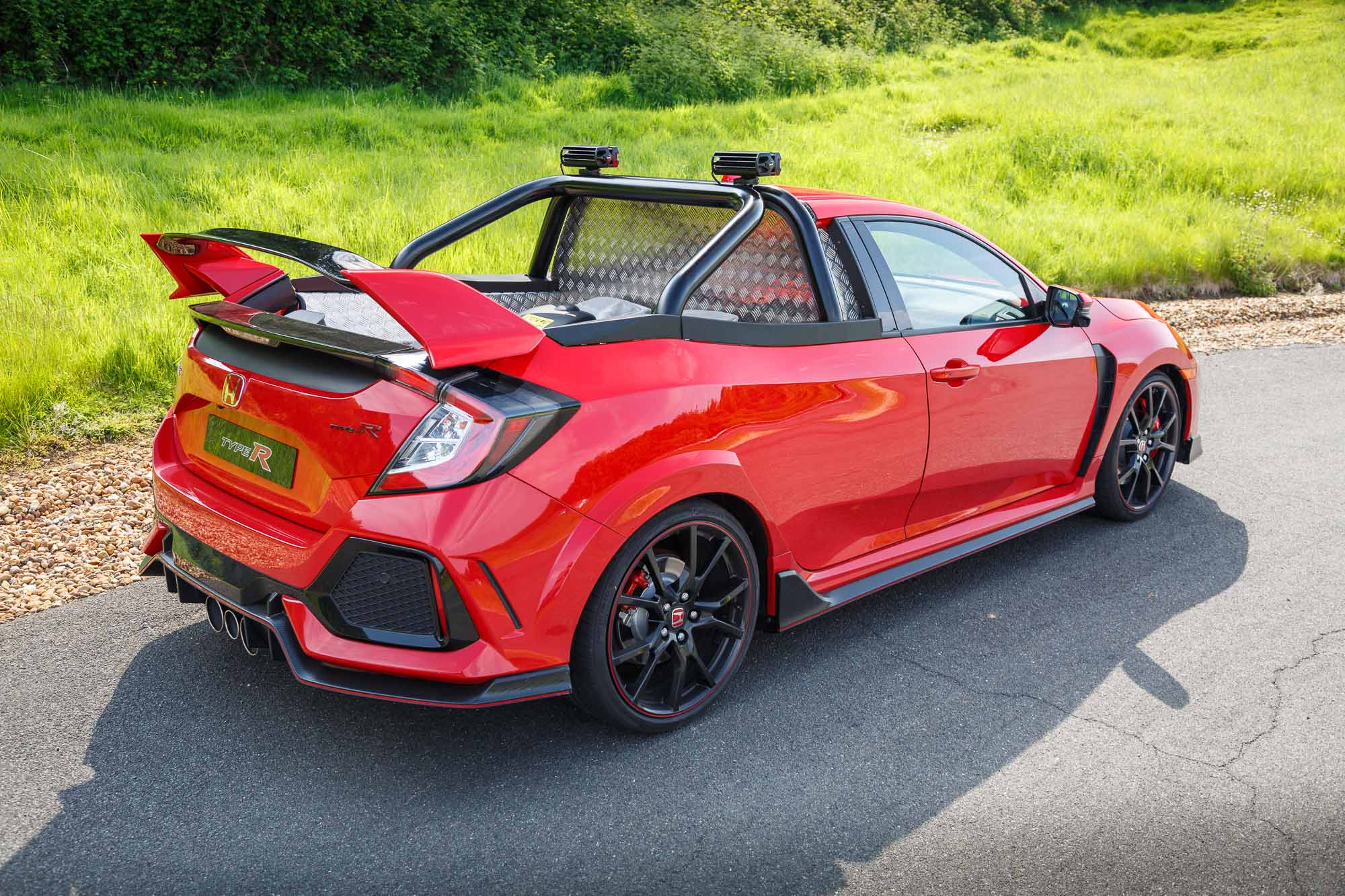 Honda Civic Type R Pickup Truck 165mph And 0 62mph In