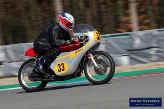 Libor Dokulil - Honda CB400 - Jarní cena Brna 2018