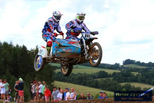 54 - MMČR Sidecarcrossu a quadu - Dalečín 2.6.2018