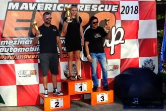 05 - Kristýna Fillová na nejvyším stupínku za vítězství ve třídě S1+2000 v Maverick Rescue Euro Cupu