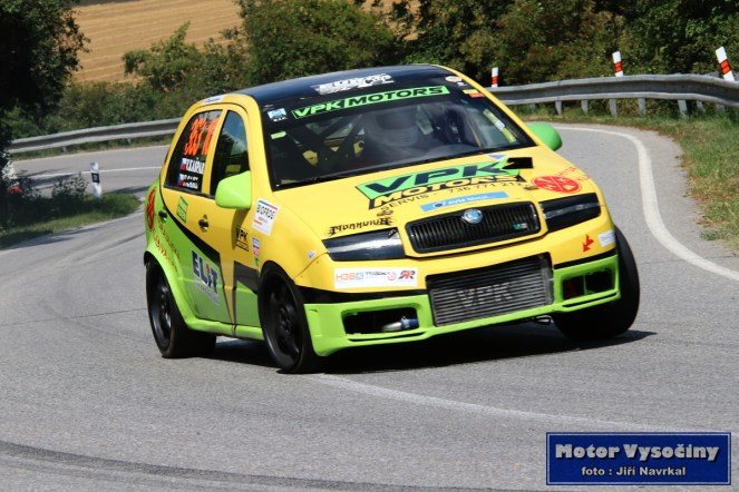 12 - Vilém Kašpar - VPK Motors - Škoda Fabia TDi
