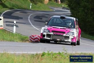 16 - Drahoslav Šubert - Mitshubishi Lancer WRC 05- Diváky 2018