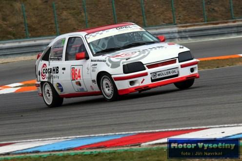 11 - Doležálek Lubomír - Opel Kadet GSi- IV. RACE CAR SHOW MREC - Brno - 21.10.2018