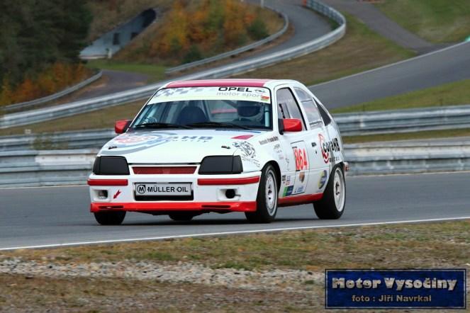 20 - Doležálek Lubomír - Opel Kadet GSi- IV. RACE CAR SHOW MREC - Brno - 21.10.2018