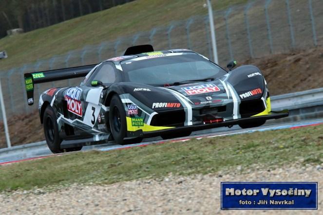 Testování nového vozu MC F1 EVO Marka Rybníčka před prvním závodem 5.4.2019 Brno - 09