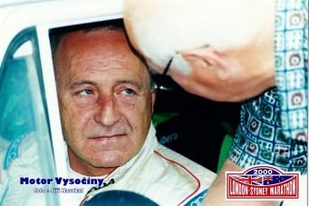 08 - Ing. Šedivý Jiří před startem RZ vTasov při London -Sydney Marathn 2000