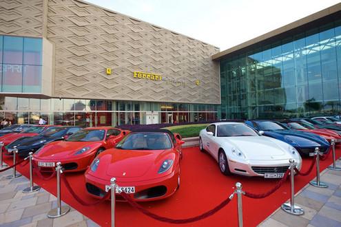 In Dubai: Worlds largest Ferrari store opening ceremony ferrari store dubai 2