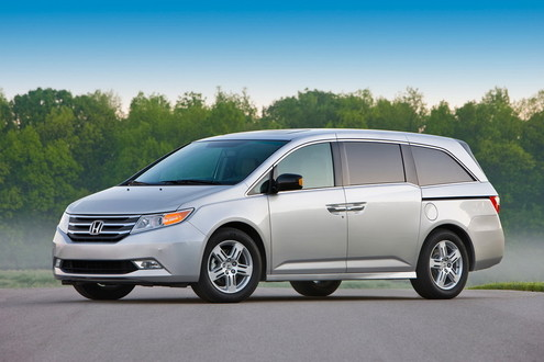 2011 Honda Odyssey Unveiled 2011 Honda Odyssey 1