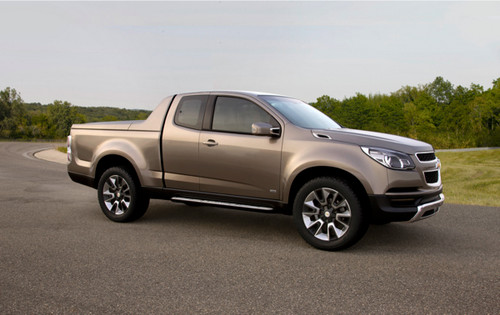 Chevrolet Colorado Concept Revealed Chevrolet Colorado 3