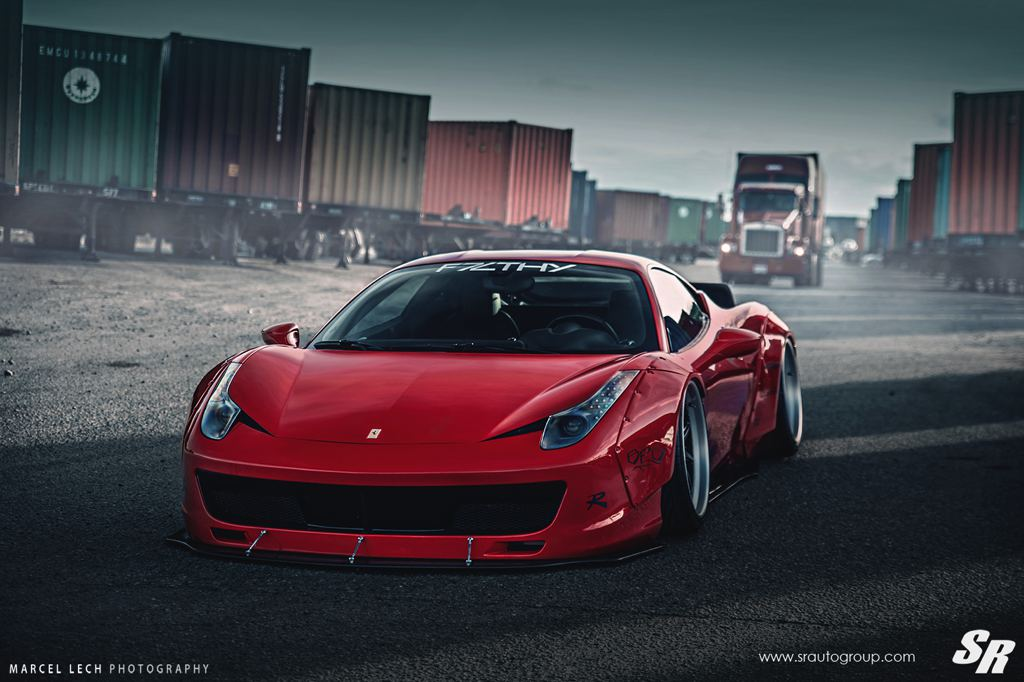 Liberty Walk Ferrari 458 F7LTHY By SR Auto