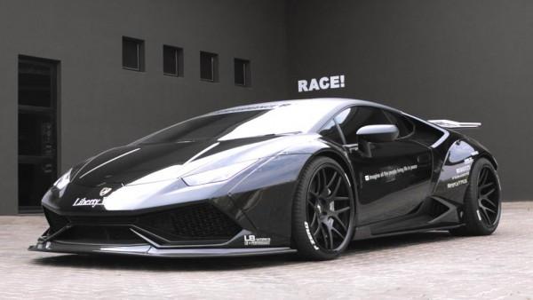 Liberty Walk Lamborghini Huracan by RACE!