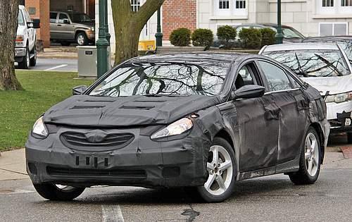 Spyshots: 2011 Hyundai Sonata 2011 hyundai sonata spy1