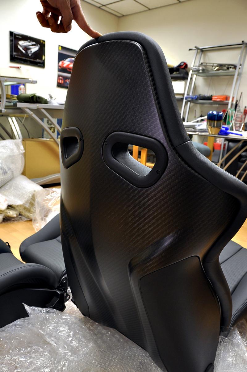 Sp Engineering Ships In Recaro Carbon Fiber Gt R Spec V Seats Motorworldhype
