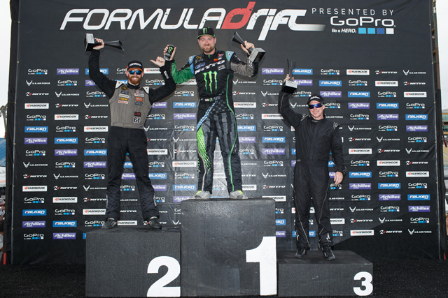 FormulaDrift2014_Miami_Podium