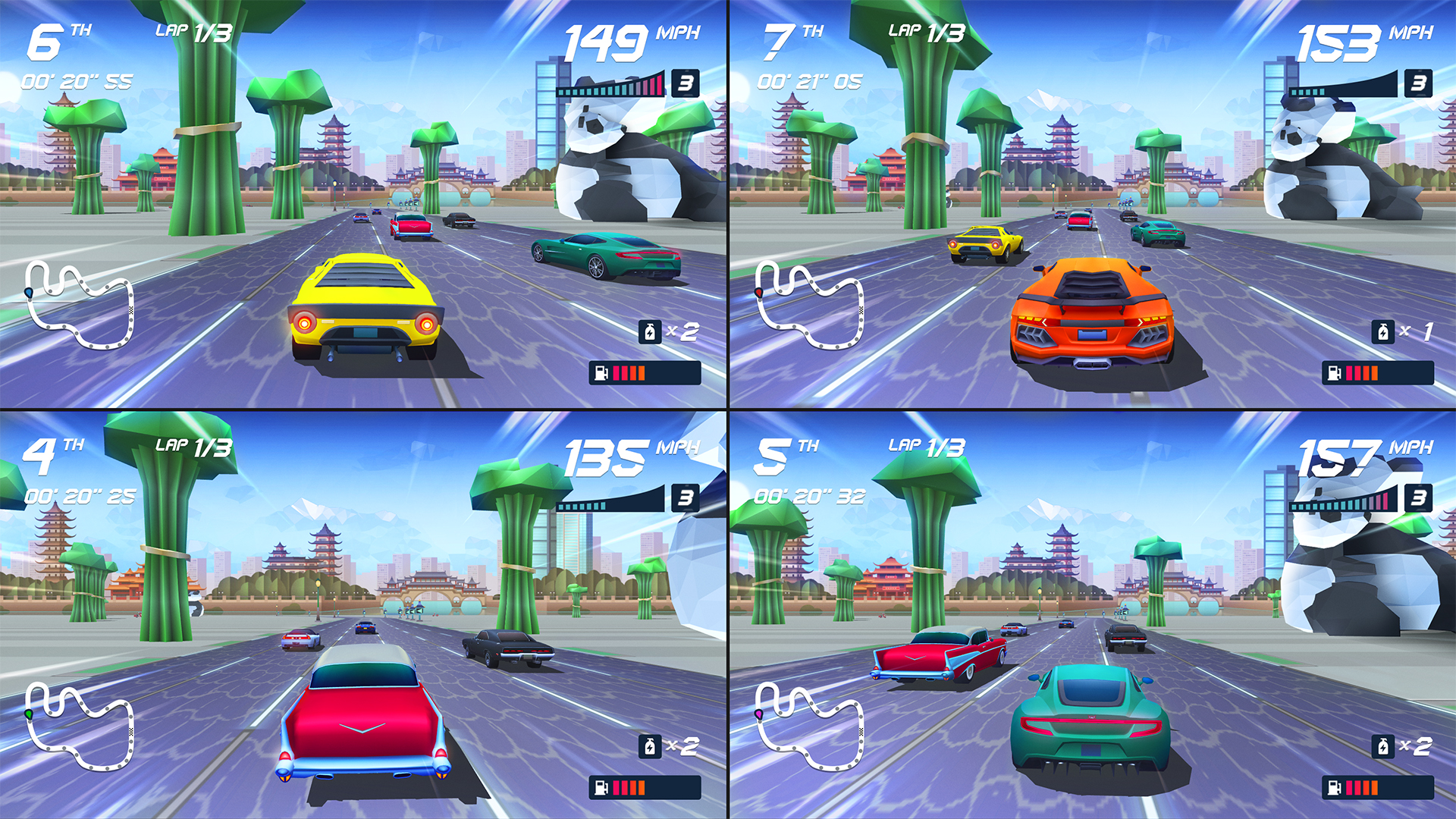 PREVIEW: Horizon Chase Turbo Is An Homage To Racing Games Of