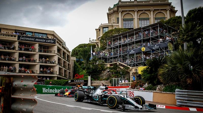 Formula One - Mercedes-AMG Petronas Motorsport, Monaco GP 2019. Lewis Hamilton