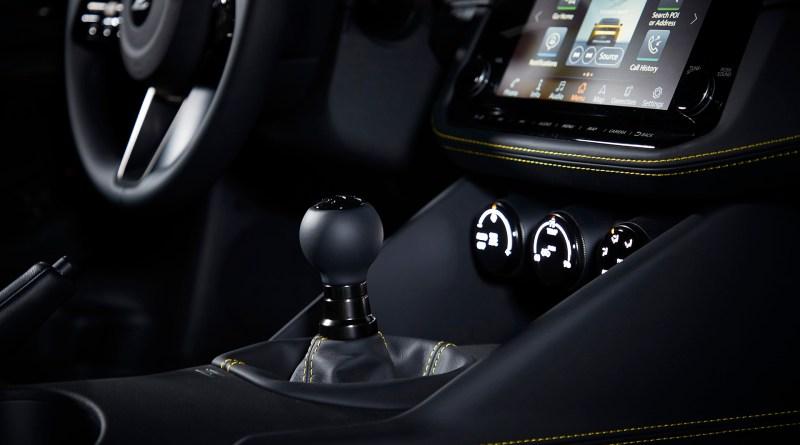 Nissan Z proto interior gear shifter