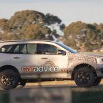 Ford Endeavour Everest Facelift Spied In Australia Motor World India