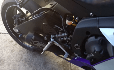 M4 Slip-On Exhaust on Yamaha R6