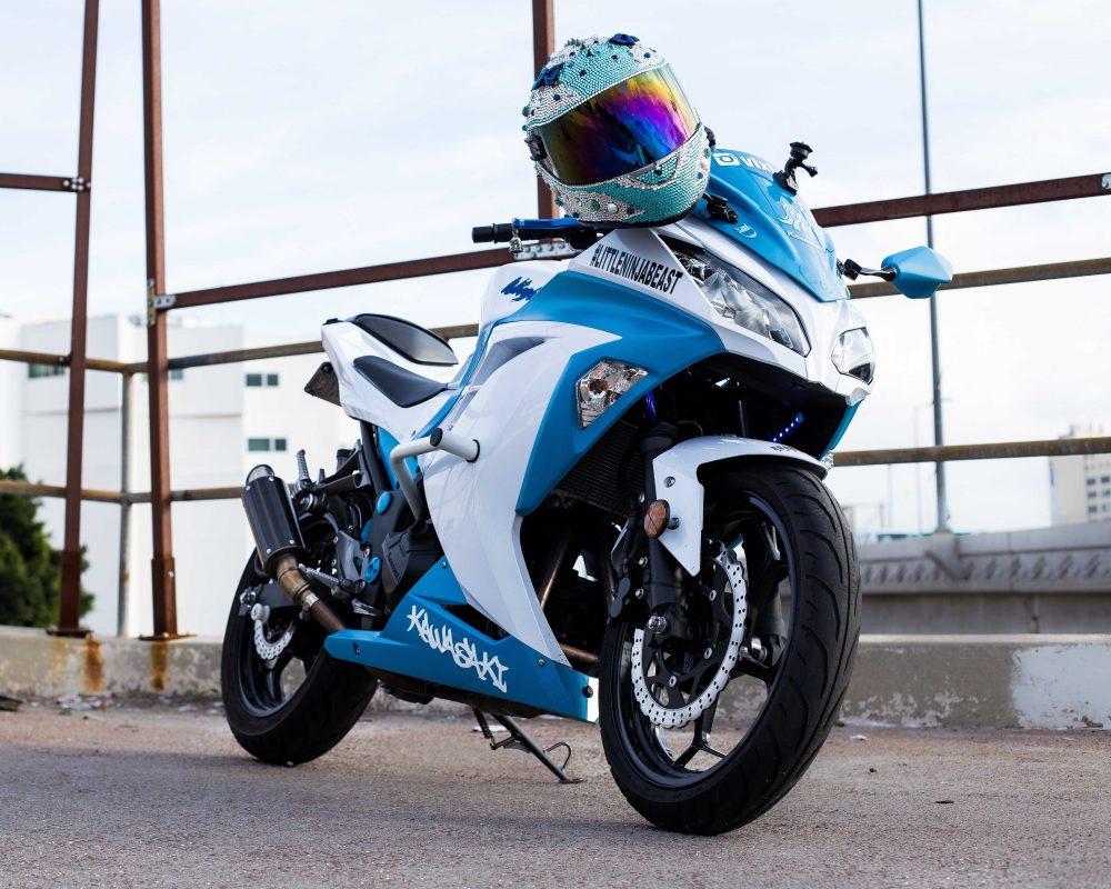 Blue-White Kawasaki Ninja 300_2_IG.@ohsnap_its_snap_ - S.N.A.P Photography