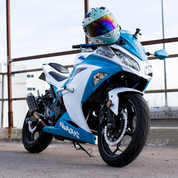 Blue-White Kawasaki Ninja 300_2_IG.@ohsnap_its_snap_ - S.N.A.P Photography