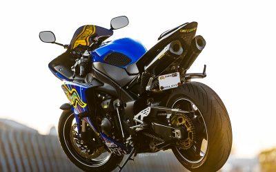 AGV 5 Continents on Yamaha R1 by Bikeskinz_Aloha Custom Wraps_4